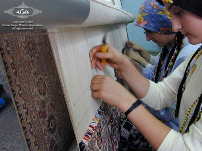 dyed real silk carpet thread